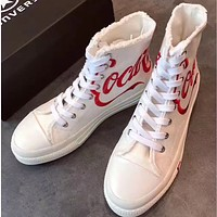 KITH X Coca-cola X Converse Women Men Fashion Casual Flats Shoes