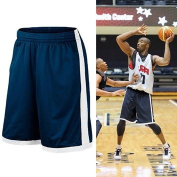 Basketball Shorts Plus Size Men Sport Short Men's USA Quick Dry Basketball Shorts with Pockets High Quality Basketball Jersey