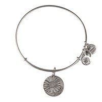 Alex and Ani Daughter Charm Bangle - Russian Silver