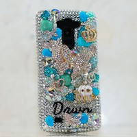 TURQUOISE TREASURES Personalized Name & Initials Design (style PN_1100)