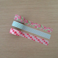 Set of 3 washi tapes (W02)