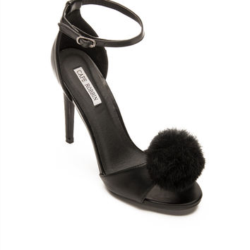 Princess Pom Puff Pump in Black
