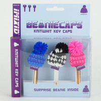 Imixid Beaniecaps Knitwhit Key Caps Multi One Size For Men 20722095701