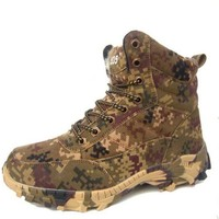 Winter boots anti - winter boots anti-skid men cotton shoe desert camouflage outdoor snow boots training boots
