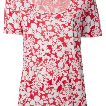 VONEG8Q Tory Burch 'Esther' floral print t-shirt
