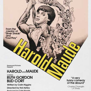 Harold and Maude 27x40 Movie Poster (1971)