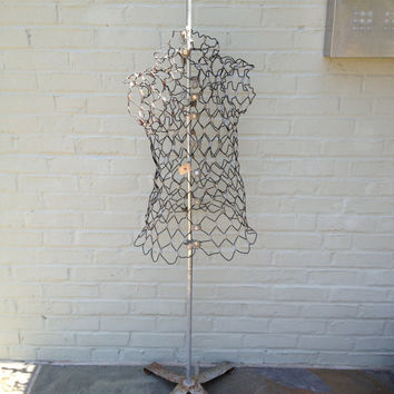 Vintage Metal Dress Form