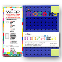 WAFF MOZAIKA COMBO MEDIUM ROYAL BLUE JOURNAL