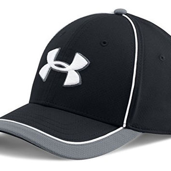 Under Armour Men's UA Team Train Cap, Black/Graphite/White, L/XL