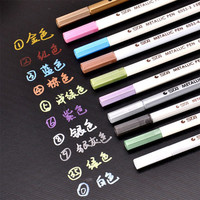 Hot Sale School Stationery Marker Pens High Quality Permanent Markers Colorful Paint Marker Pen School Supplies