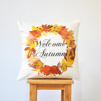 "NEW! Thanksgiving Pillow, Decorative Pillow, Kids Pillows, Nursery Pillow, ModernThrow Pillow, 16"" x 16"""