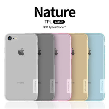 iPhone 7 Ultra Thin Transparent Silicone Case