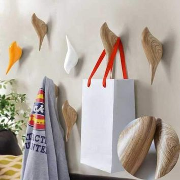 Bird Wall Hooks Clothes Towel Robe Coat Hat Hanger