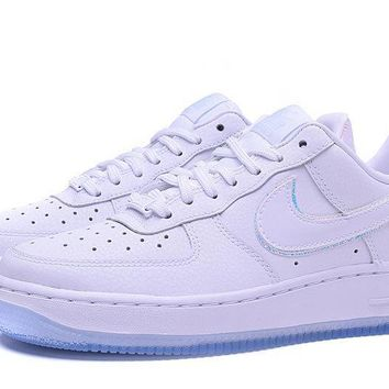 hcxx NIKE Air Force 1 07 Prm AF1 White For Women Men Running Sport Casual Shoes Sneakers