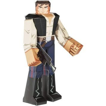 """12"""" Han Solo Star Wars Papercraft Action Figure"""