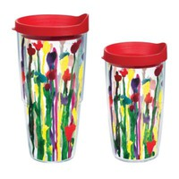 Tervis® Skinny Flowers Wrap Tumbler with Lid