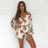 Field Of Roses Romper