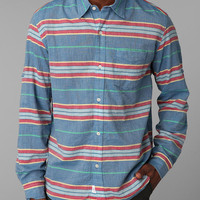 Hawkings McGill Striped Breezy Button-Down Shirt