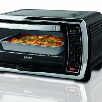 Oster Digital Black Toaster Oven