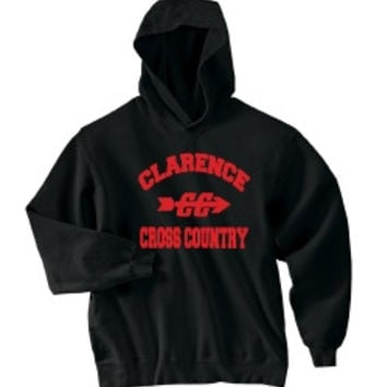 Clarence HS Cross Country Port & Company® Mens - Ultimate Pullover Hooded Sweatshirt