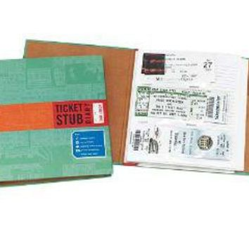 TICKET STUB DIARY | Ticket Album, Journal, Binder, Organizer | UncommonGoods