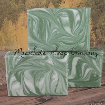 IRISH ISLE, Irish Spring type soap, Handcrafted Moisturizing , mans soap, women soap, Gift for Him, Gift for Her