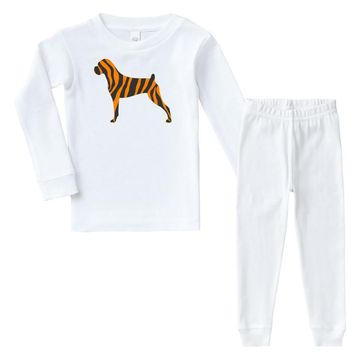 tiger pattern Infant long sleeve pajama set