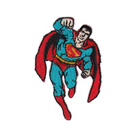 Superman Mini Iron-On Patch