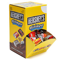 Hershey's Miniatures Chocolate Bars Assortment: 120-Piece Box