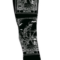 Death card tarot leggings