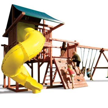 Playnation Ringmaster Wooden Swing Set