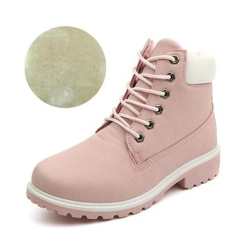 Beauty Ticks Women Boots Fashion Classic Autumn Boats Women Winter Boots Flat Heel Women Shoes Ankle Boots Hard Outsoles