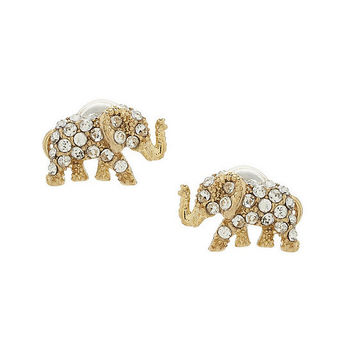 kate spade new york Pavé Elephant Studs | Dillards