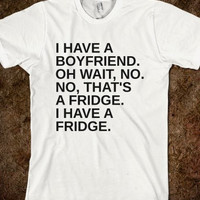 Boyfriend Fridge