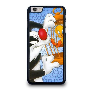 sylvester and tweety looney tunes iphone 6 6s plus case cover  number 1