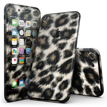 Light Leopard Fur - 4-Piece Skin Kit for the iPhone 7 or 7 Plus