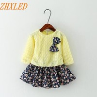 Spring autum Baby Girl Dress Princess Dress Baby Girls Party for Toddler Girl Dresses Clothing Long sleeve tutu Kids Clothes