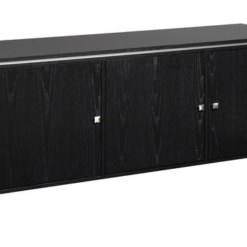Eagleton 69-inch Wood Media Console with Doors