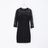 LACE TUBE DRESS - Dresses - TRF | ZARA United Kingdom