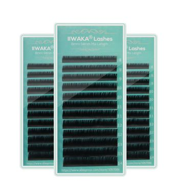 Synthetic Hair Individual Faux Mink Eye Lash
