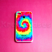 iphone 4 Case, Colorful swirl  iPhone 4 Cases, Iphone 4s Cover,Case for iPhone 4