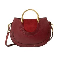 Chloe Pixie Medium Double-Handle Bag