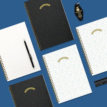 Everyday is special day spiral lined notebook