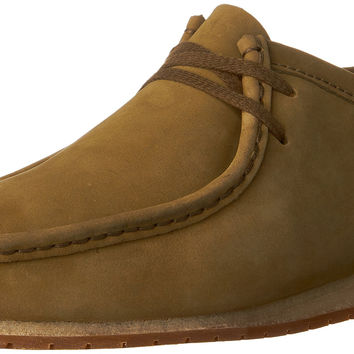 Clarks Mens Wallabee Step Oxford Olive Nubuck 12 D(M) US '