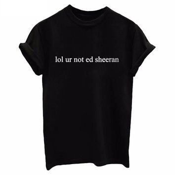 Ed Sheeran Black T-Shirt