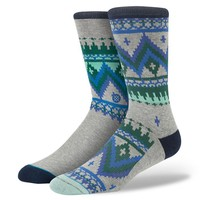 Stance | Irie Isle Black socks | Buy at the Official website Main Website.