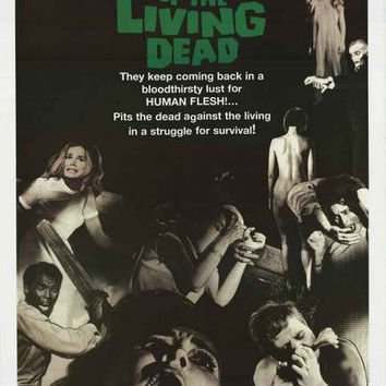 Night of the Living Dead Movie Poster 24x36