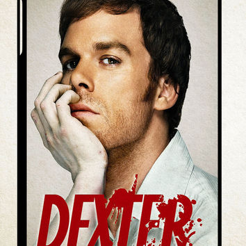 Dexter Morgan Bloody Face X1621 iPad 2 3 4, iPad Mini 1 2 3, iPad Air 1 2 , Galaxy Tab 1 2 3, Galaxy Note 8.0 Cases