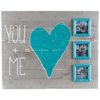 You + Me Wood Sign with Frames | Hobby Lobby