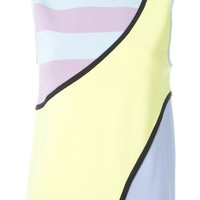 Iceberg Striped Colour Block Tank Top - Dope Factory - Farfetch.com